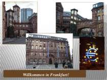 Willkommen in Frankfurt!