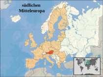 südlichen Mitteleuropa