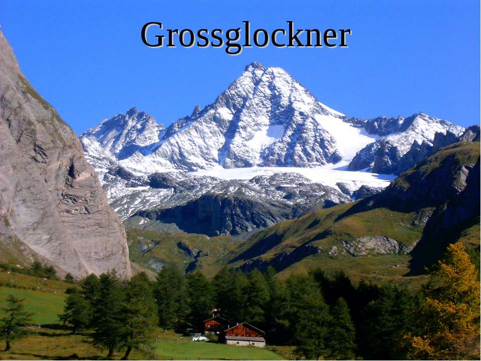 Grossglockner