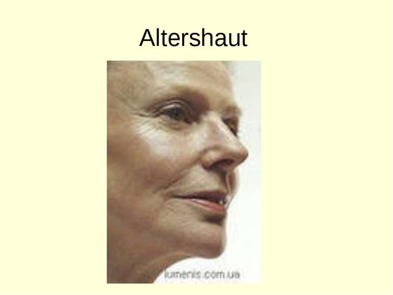 Altershaut