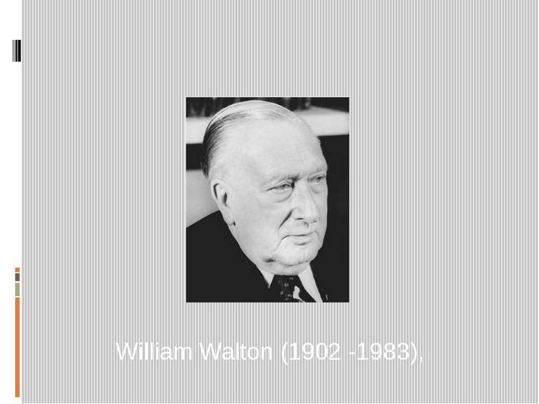 William Walton (1902 -1983),
