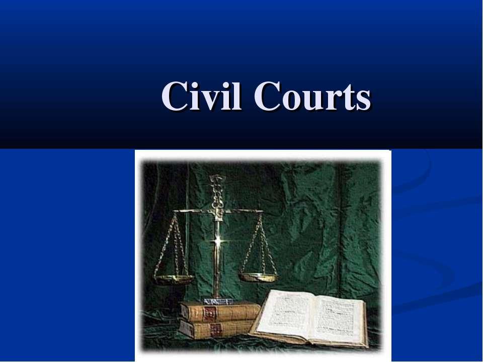 Civil Courts