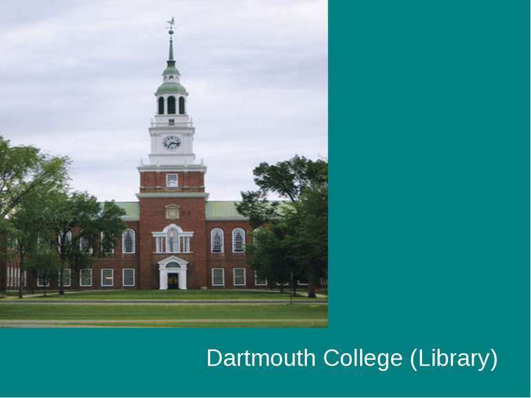Dartmouth College (Library)