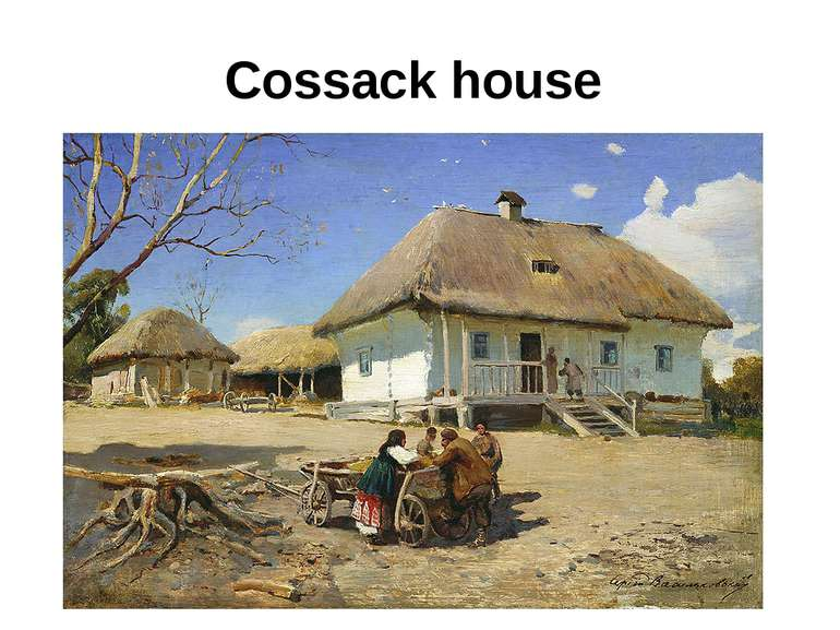 Cossack house