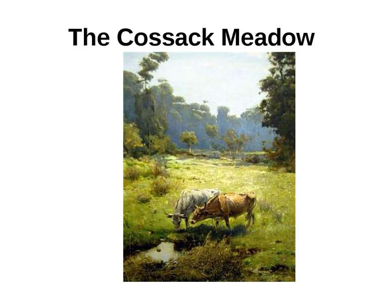 The Cossack Meadow