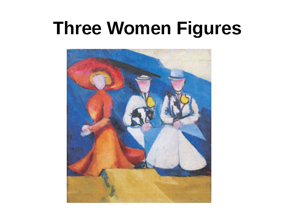 Three Women Figures