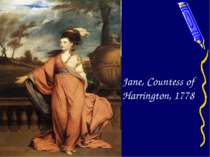 Jane, Countess of Harrington, 1778