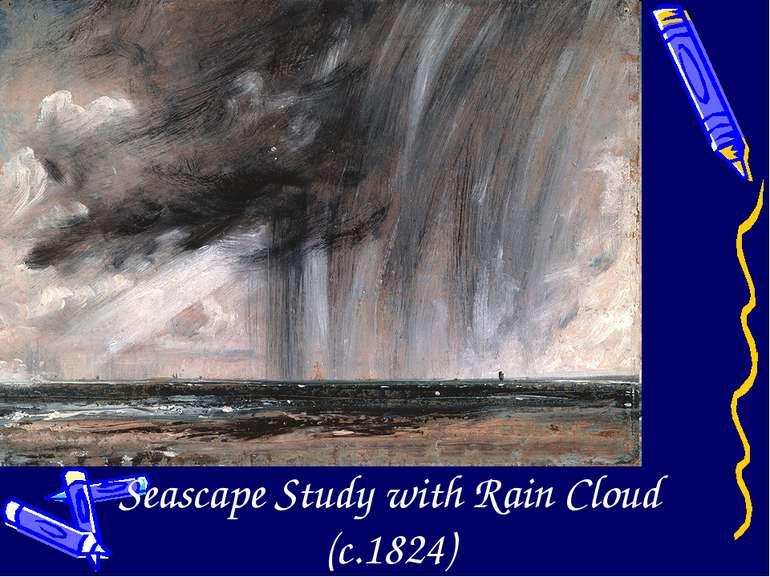 Seascape Study with Rain Cloud (c.1824)