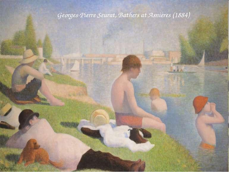 Georges-Pierre Seurat, Bathers at Asnières (1884)