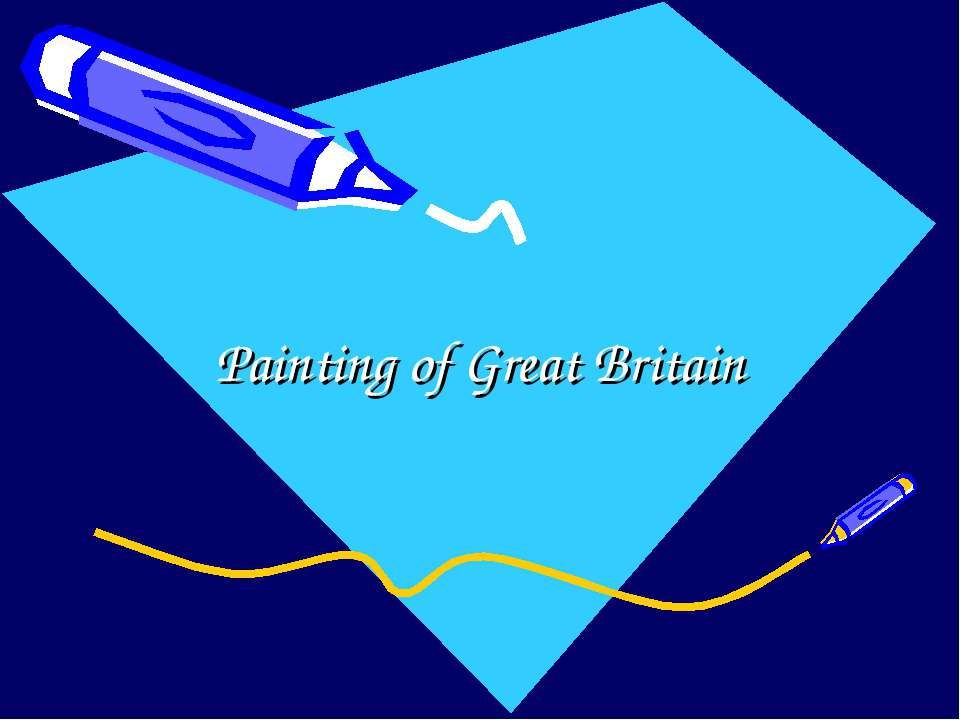 Painting of Great Britain