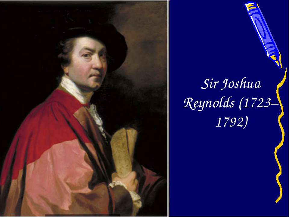 Sir Joshua Reynolds (1723–1792)