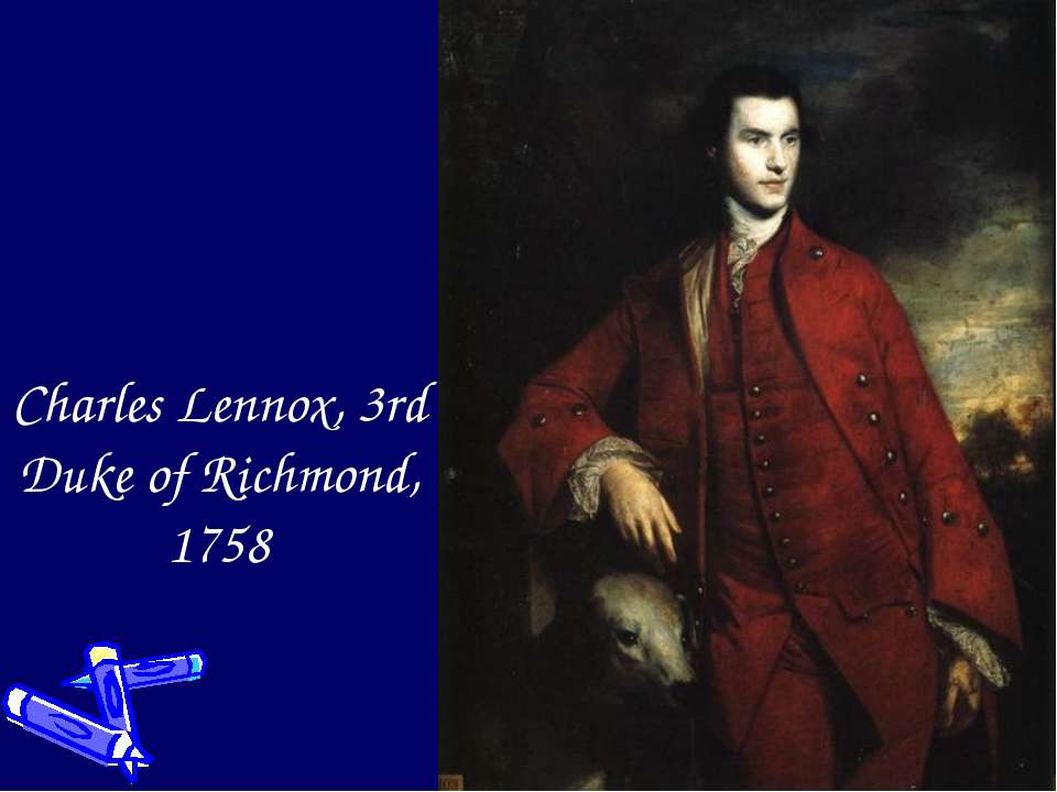 Charles Lennox, 3rd Duke of Richmond, 1758