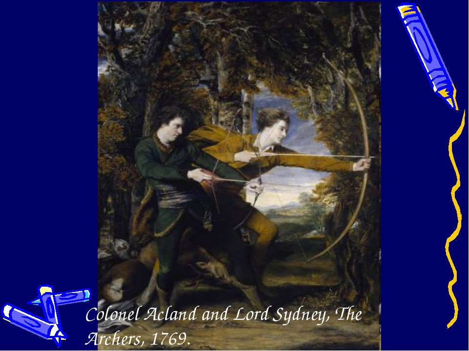 Colonel Acland and Lord Sydney, The Archers, 1769.
