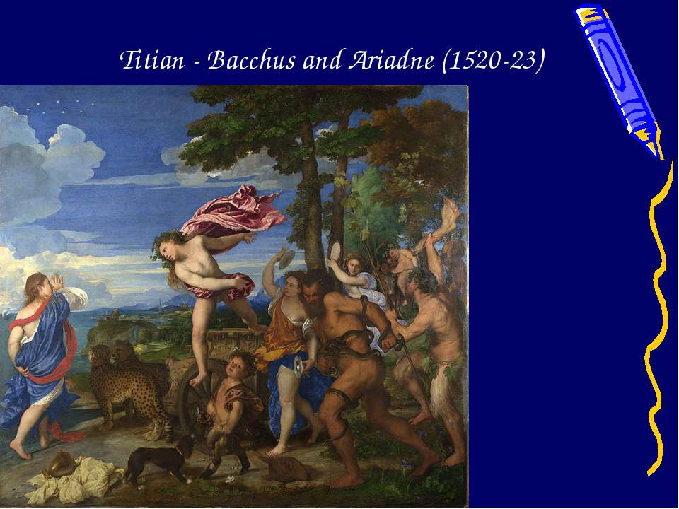 Titian - Bacchus and Ariadne (1520-23)