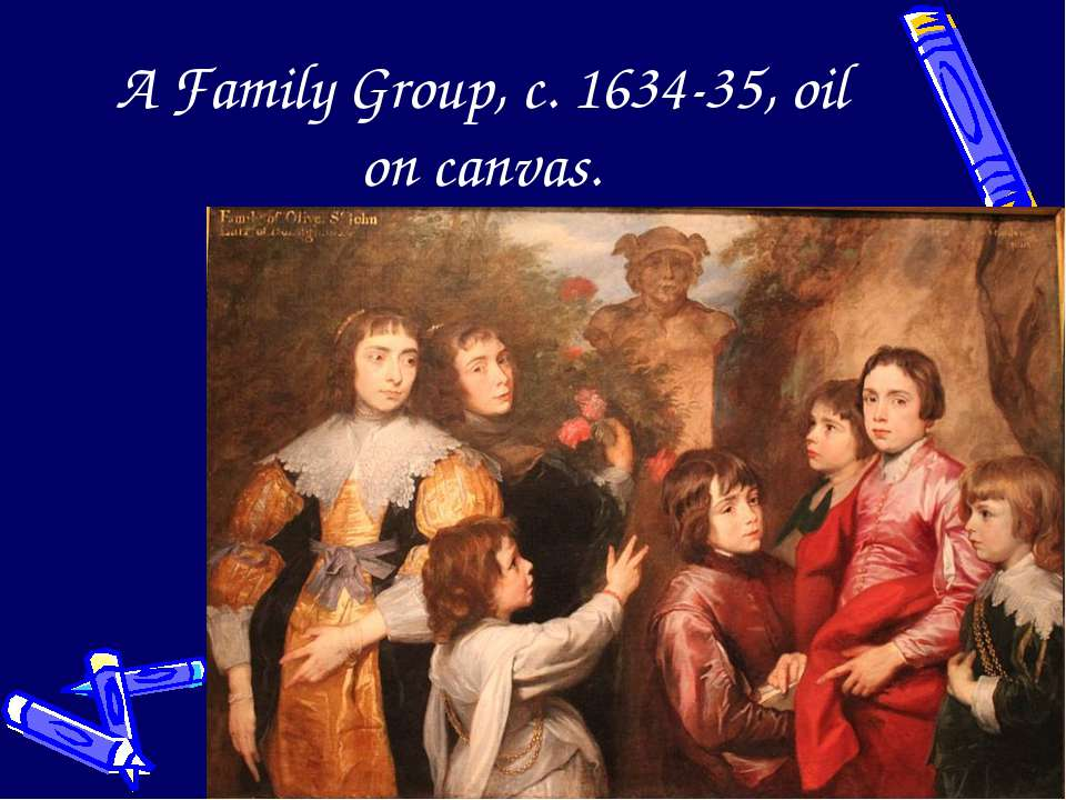 A Family Group, c. 1634-35, oil on canvas.