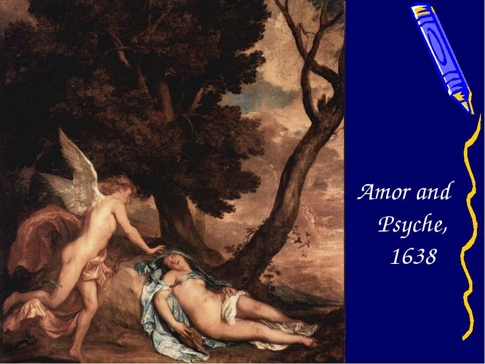 Amor and Psyche, 1638