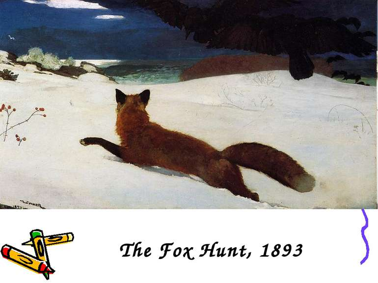 The Fox Hunt, 1893