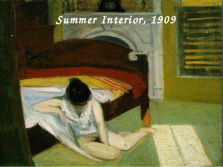 Summer Interior, 1909
