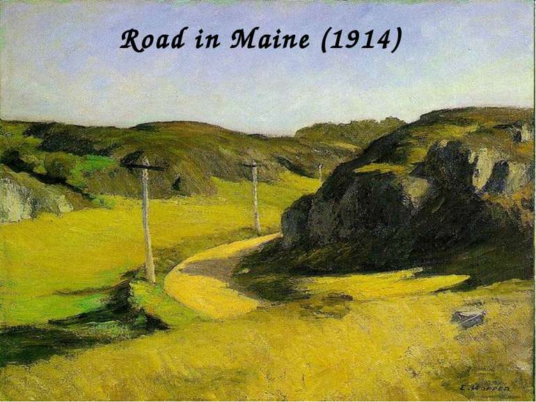 Road in Maine (1914)