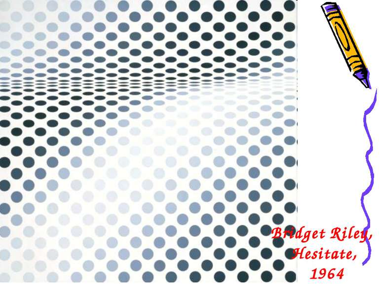 Bridget Riley, Hesitate, 1964