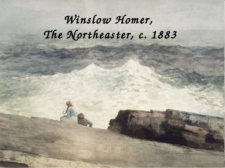 Winslow Homer, The Northeaster, c. 1883