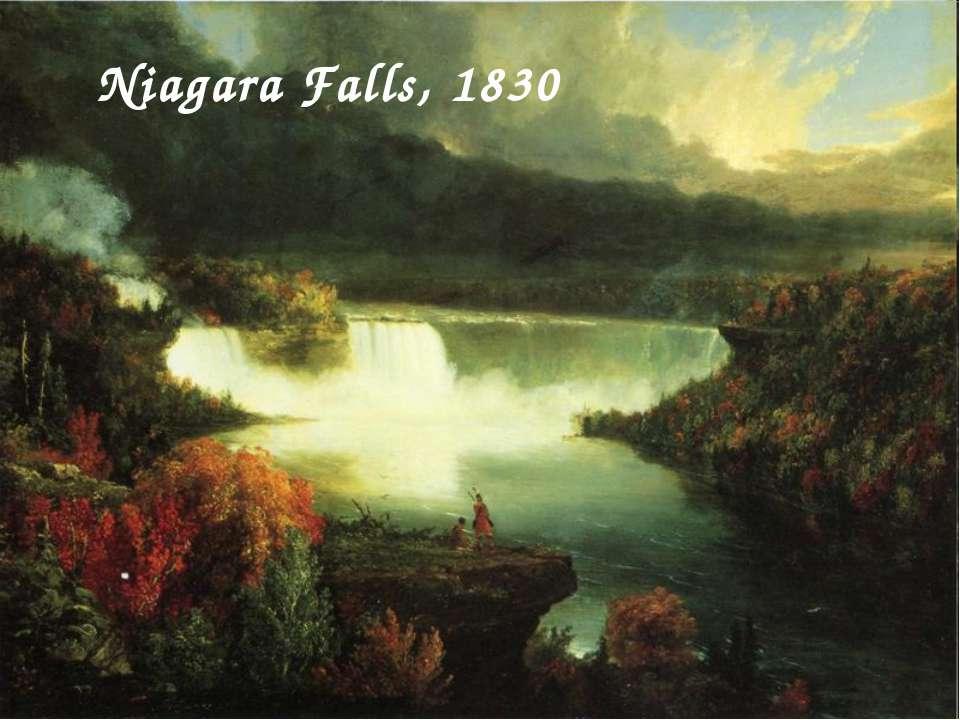 Niagara Falls, 1830