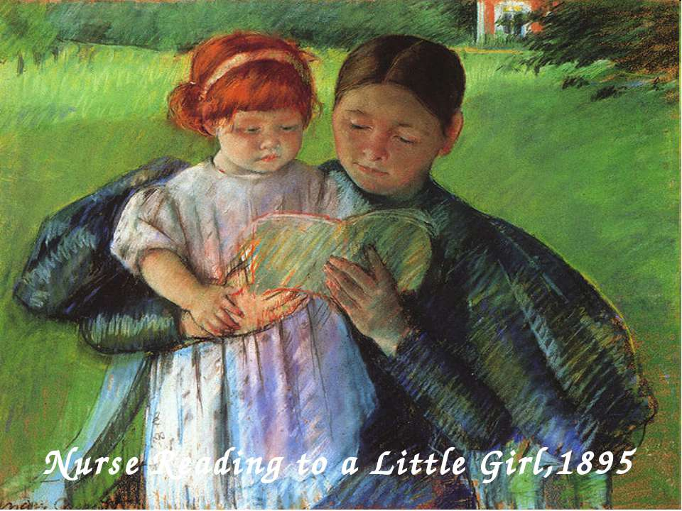 Nurse Reading to a Little Girl,1895