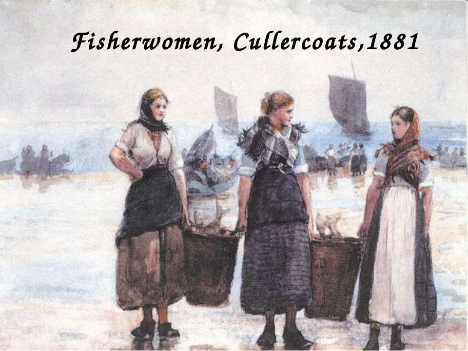 Fisherwomen, Cullercoats,1881