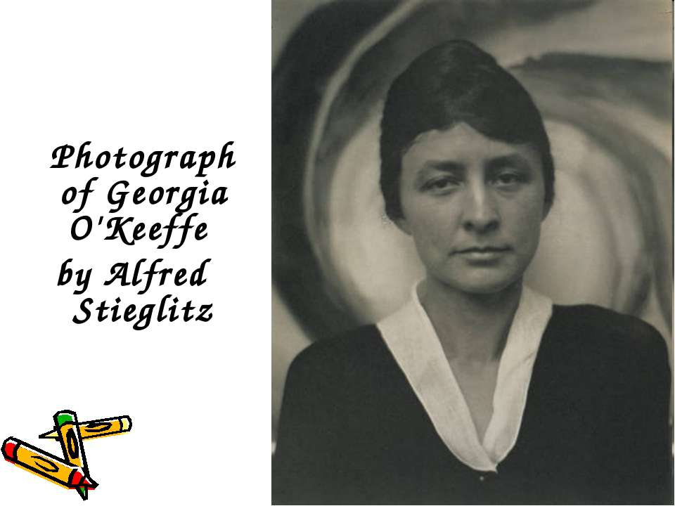 Photograph of Georgia O'Keeffe by Alfred Stieglitz