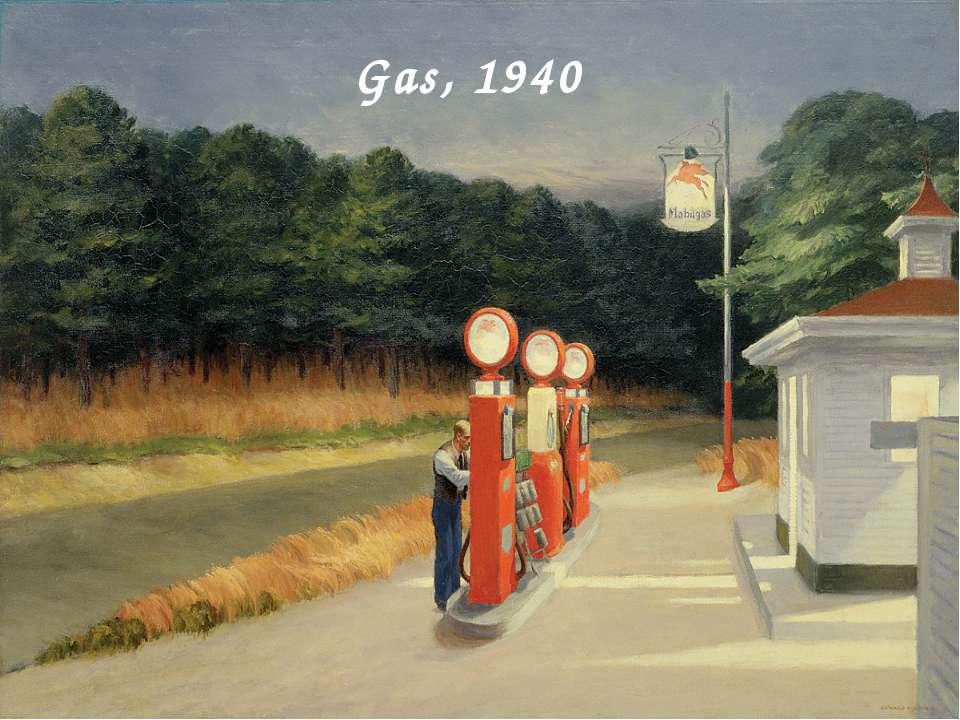 Gas, 1940
