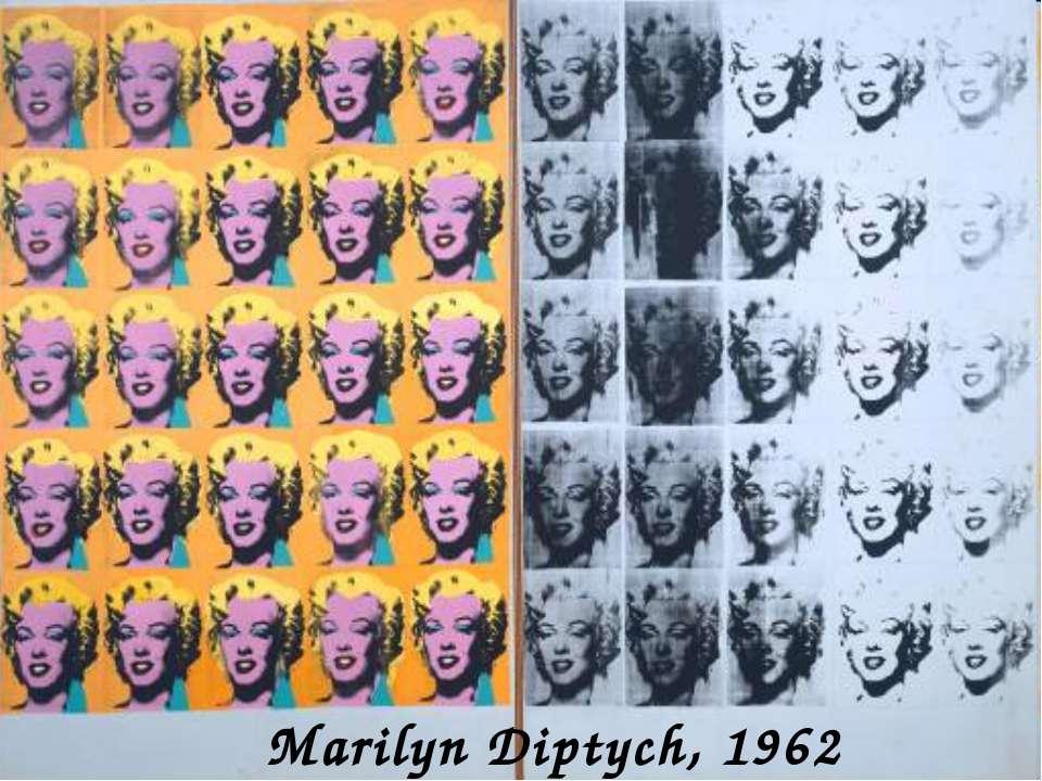 Marilyn Diptych, 1962