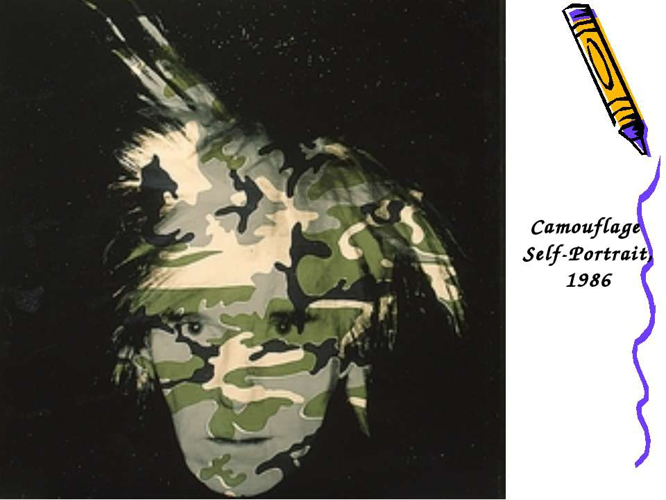 Camouflage Self-Portrait, 1986