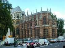 Chapel Henry VII