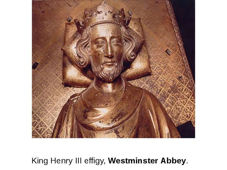 King Henry III effigy, Westminster Abbey.