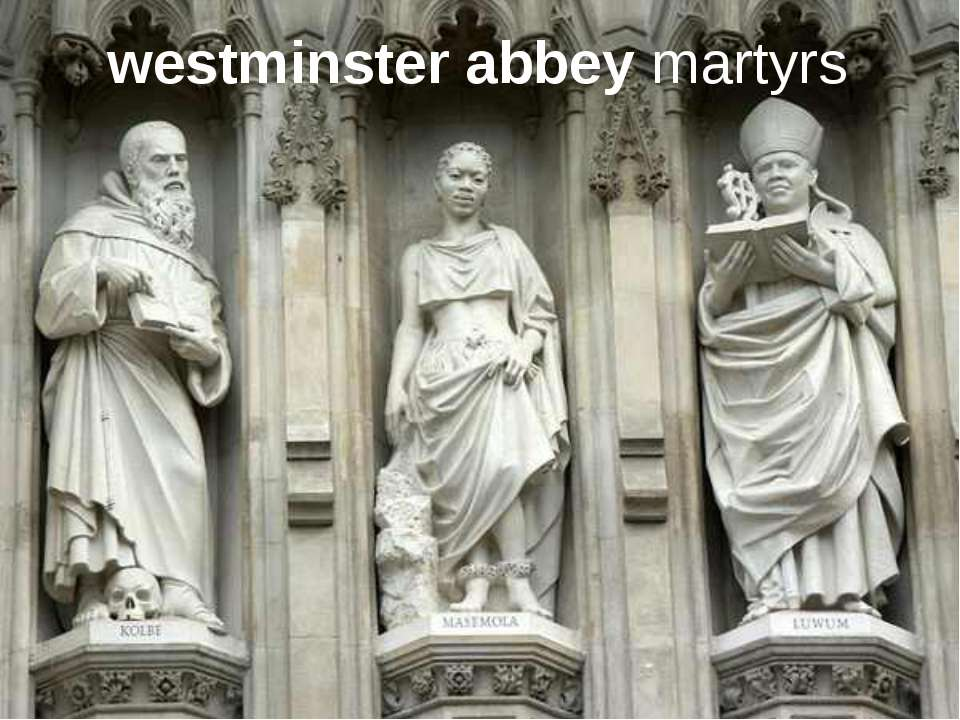 westminster abbey martyrs