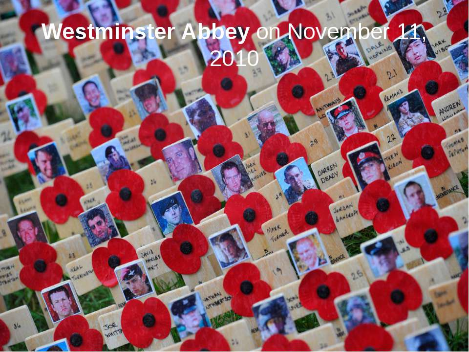 Westminster Abbey on November 11, 2010