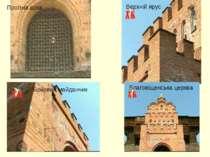 Проїзна арка Верхній ярус Бойовий майданчик Благовіщенська церква