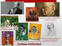 Graham Sutherland Study for a portrait of Churchill, by Graham Sutherland Por...