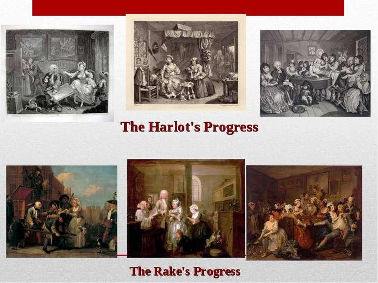 The Harlot's Progress The Rake's Progress