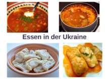 Essen in der Ukraine