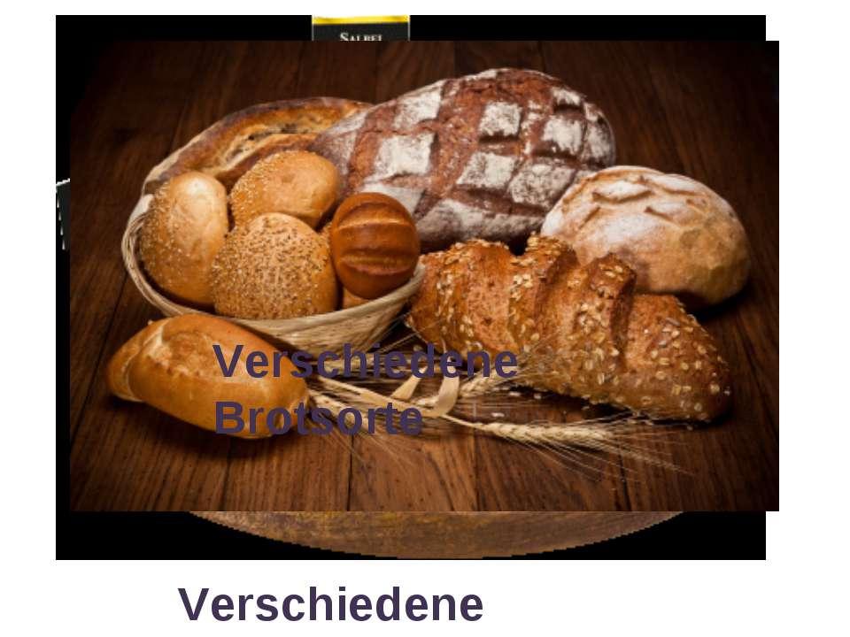 Verschiedene Käsesorte Verschiedene Brotsorte