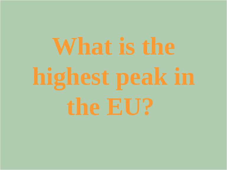 What is the motto of the EU?