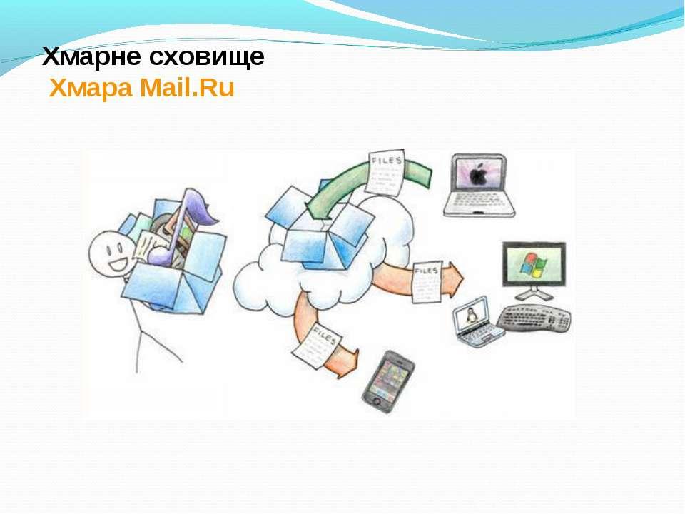 Хмарне сховище Хмара Mail.Ru