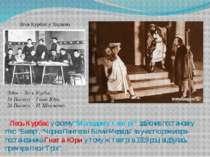 """Лесь Курбас у своєму """"Молодому театрі"""" здійснив постановку п'єс: """"Базар"""", """"Чо..."""
