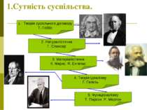 1.Сутність суспільства. Теорія суспільного договору Т. Гоббс 2. Натуралістичн...