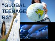 Global teenagers