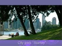 "City park ""Stanley"""