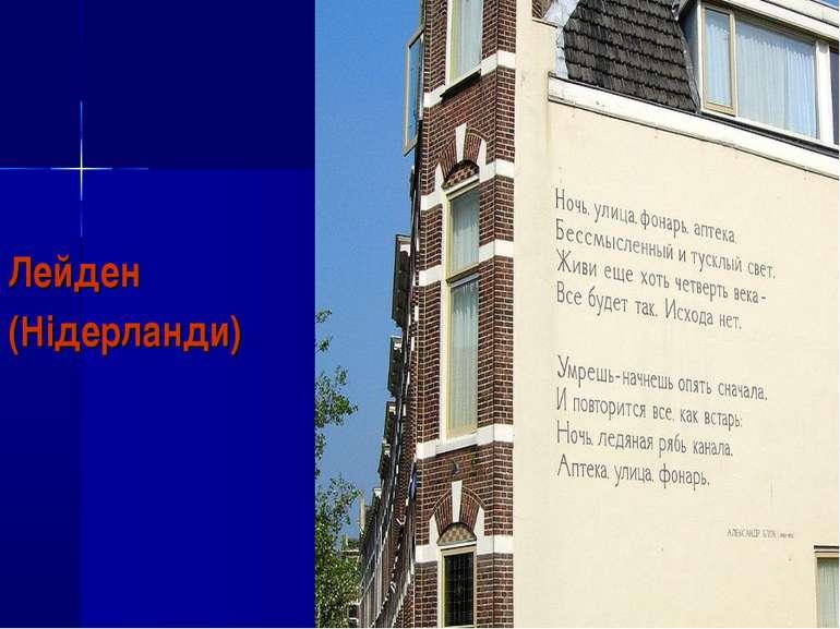 Лейден (Нідерланди)