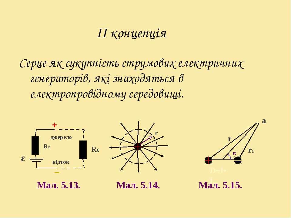 Серце як сукупність струмових електричних генераторів, які знаходяться в елек...
