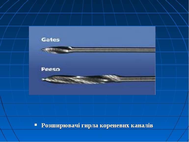 Розширювачі гирла кореневих каналів